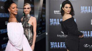 Valérian : Cara Delevingne, Rihanna et Kendall Jenner en robes ultra sexy pour l'avant-première ! (PHOTOS)