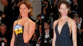 Oups ! Cette actrice en dévoile un peu trop sur le tapis rouge de la Mostra de Venise (PHOTOS)