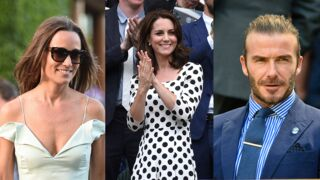 David Beckham, Kate et Pippa Middleton... Du beau monde à Wimbledon (15 PHOTOS)