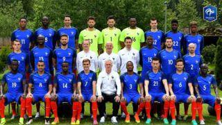 Euro 2016 : La photo officielle de l'Equipe de France dévoilée