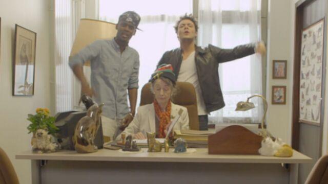 Kev Adams retourne au lycée pour le rappeur Black M (VIDEO)