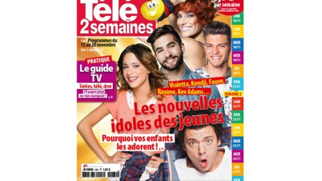 À la Une de Télé 2 semaines : Rayane Bensetti, Kendji, Kev Adams… Les nouvelles idoles des jeunes