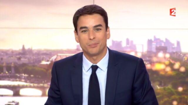 Quand Julian Bugier annonce un reportage d'Anne-Claire Coudray au 20h de France 2... (VIDEO)