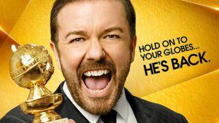 Golden Globes 2016 : Ricky Gervais est d'attaque sur le poster officiel