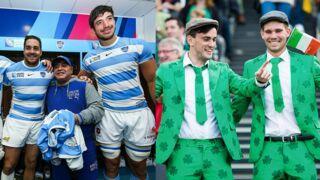 Insolite de la Coupe du monde de rugby : Maradona soutient les Pumas, le trèfle nouvel imprimé tendance (34 PHOTOS)