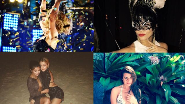Taylor Swift, Selena Gomez, Lea Michele : les stars fêtent 2015 (PHOTOS)
