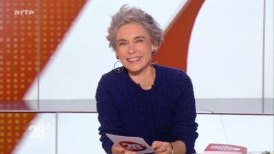 """Elisabeth Quin (28 minutes) : """"Je regarde la télé une fois par semaine pour m'amuser de la mèche de Laurent Delahousse"""""""