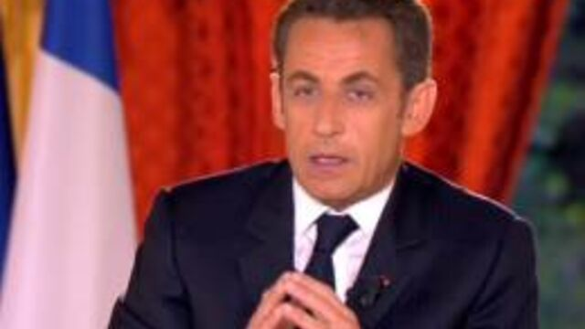 L'annonce de candidature de Nicolas Sarkozy suivie par 10,7 millions de téléspectateurs