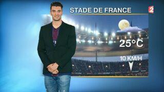 Quand un joueur du PSG s'incruste dans la météo de France 2 (VIDEO)