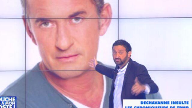 Excédé, Cyril Hanouna répond aux insultes de Christophe Dechavanne (VIDEO)