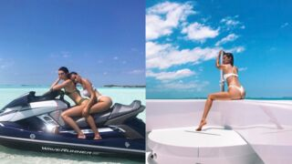 Bikini, yatch, jet-ski... Les vacances ultra-sexy de Kendall Jenner et Bella Hadid (PHOTOS)