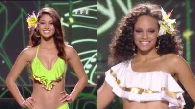 Miss France 2017 : Miss Guyane et Miss Languedoc-Roussillon sexy pour le défilé en bikini (VIDEO)