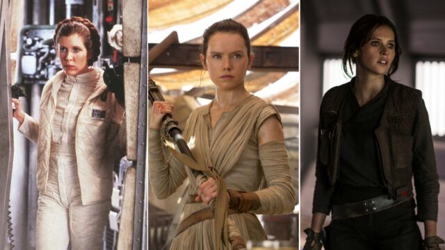 Rogue One : Princesse Leia, Rey, Jyn Erso... Les femmes de la galaxie Star Wars (32 PHOTOS)