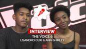 """Lisandro et Ann-Shirley opposés en demi-finale de The Voice 6 : """"On est là pour kiffer !"""" (VIDEO)"""