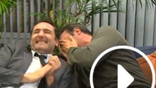 Gros fou rire de Jean Dujardin et Gilles Lellouche en pleine interview (VIDEO)