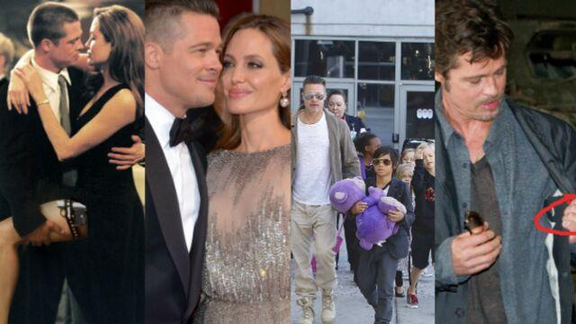 Brad Pitt et Angelina Jolie : leur love story en images (PHOTOS)