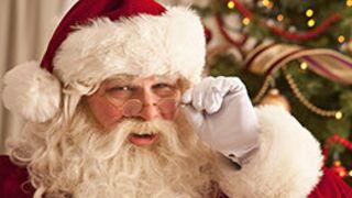 EXCLU. Le Père Noël dévoile son prénom et se compare à Kim Kardashian