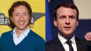 Quand Stéphane Bern a failli écraser Emmanuel Macron en voiture