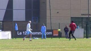 Football : Même à l'entraînement, l'OM galère... (VIDEO)