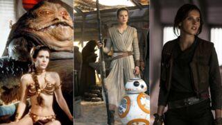 Le Réveil de la Force (Canal+) : Rey, Jyn Erso, Princesse Leia... Les guerrières sexy de l'univers Star Wars (30 PHOTOS)