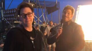 Les Gardiens de la Galaxie 2 : clap de fin de tournage et petite vidéo surprise ! (VIDEO)