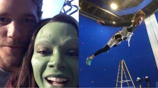 Les Gardiens de la Galaxie 2 : plongez dans les coulisses du tournage du film ! (27 PHOTOS)