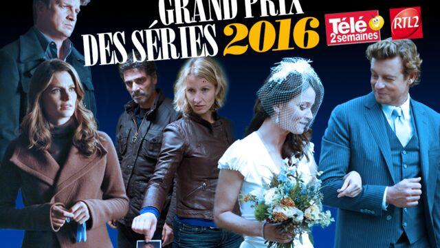 Grand Prix des séries 2016 Télé 2 semaines/RTL 2 : les votes sont ouverts