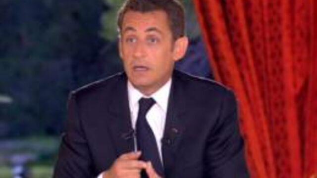 16,5 millions de téléspectateurs pour l'interview de Nicolas Sarkozy