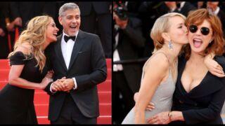 Cannes 2016 : Festival d'éclats de rire sur les marches, Julia Roberts, Susan Sarandon et George Clooney ont fait le show!  (31 PHOTOS)