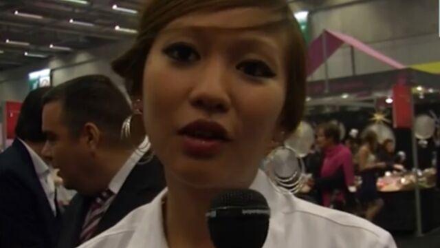 Duel gourmand MasterChef/Top chef au Salon du chocolat (VIDEO)