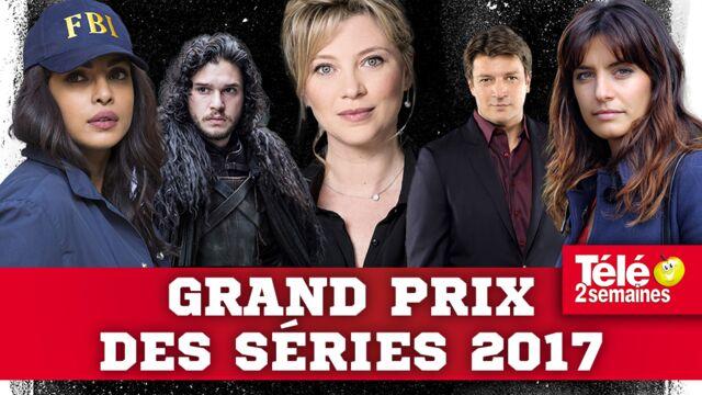 Grand Prix des séries 2017 : Alice Nevers, Castle, Scènes de ménages récompensées