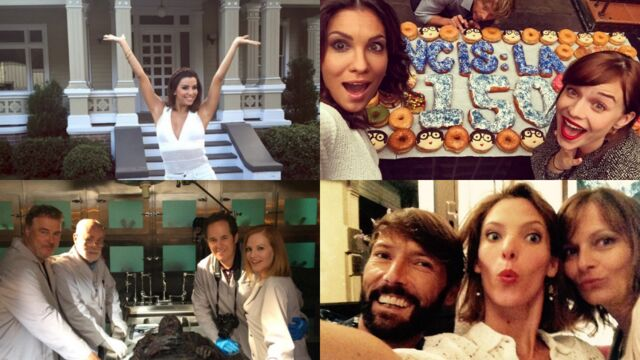 Tournages : Eva Longoria de retour à Wisteria Lane,150e épisode de NCIS : Los Angeles, les mannequins des Experts… (PHOTOS)