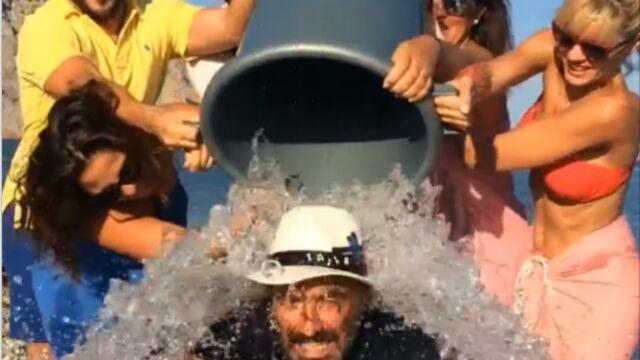 Nikos Aliagas ou Baptise Giabiconi… Les Français relèvent le Ice Bucket Challenge (VIDEOS)