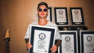Justin Bieber, le chanteur de tous les records !
