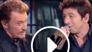 Johnny, la soirée événement: ses duos avec Gad Elmaleh, Patrick Bruel, Kendji, Jenifer...(VIDEO)