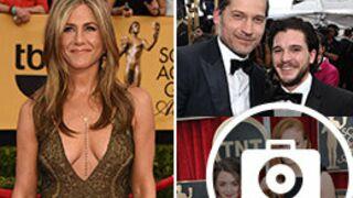 Game of Thrones, le décolleté de Jennifer Aniston... le tapis rouge des SAG Awards (PHOTOS)