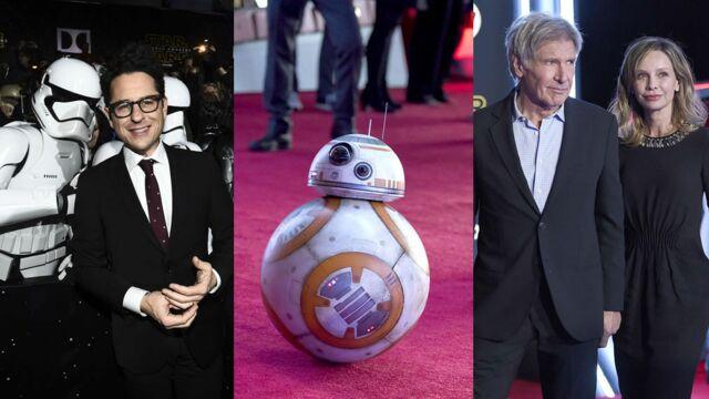Star Wars - Le Réveil de la Force : du beau monde à l'avant-première du film ! (25 PHOTOS)