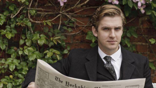 Downton Abbey : Dan Stevens (Matthew) découvre la saison 4 (VIDÉOS)
