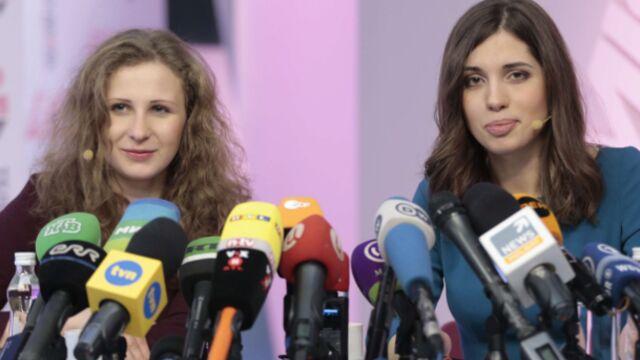 Les deux Pussy Riot libérées sur Arte et sur Canal+
