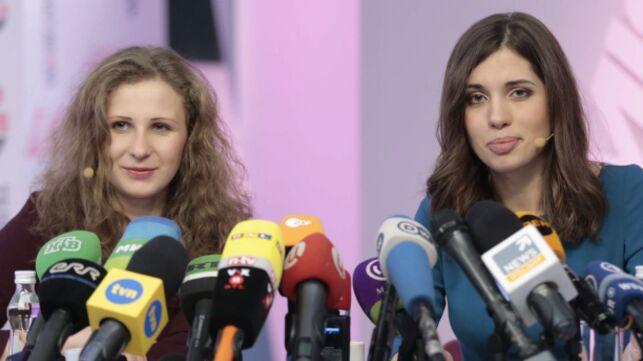Maria Riot Maria Alekhina Pussy Riot Enfermée Pendant 2 Ans En Russie