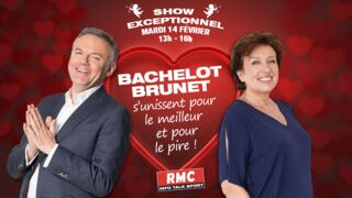 RMC : Eric Brunet et Roselyne Bachelot en duo pour la Saint-Valentin