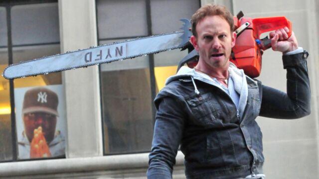 """Ian Ziering (Beverly Hills) : """"Jouer dans Sharknado m'éclate"""""""