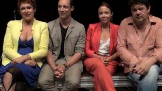 Des comédiens de Plus belle la vie sur les planches (VIDEO)