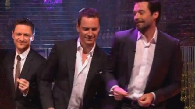 La danse sexy de Hugh Jackman, Michael Fassbender et James McAvoy (VIDEO)