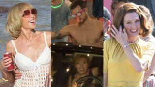Kylie Minogue à la plage, Scarlett Johansson en voiture… Les stars s'éclatent en tournage (23 PHOTOS)