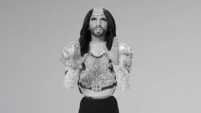 Le clip de la semaine : Conchita Wurst dans Heroes (VIDEO)