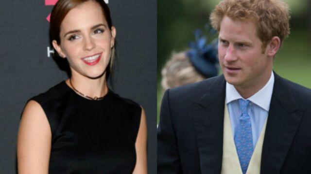 Emma Watson en couple avec le prince Harry ? Elle répond !