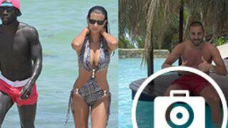 Les Bleus en vacances : Ludivine Sagna en trikini, Benzema s'éclate (18 PHOTOS)