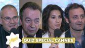 Cannes 2017 : Michel Denisot, Laurie Cholewa… Les stars de Canal + connaissent-elles bien le festival ? (QUIZ VIDEO)