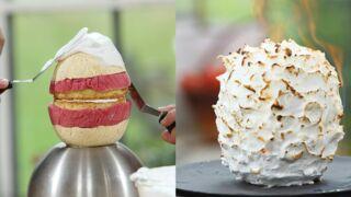 Le Meilleur Pâtissier : quelle est la recette de l'Alaska bomb, le gâteau oublié de Mercotte ?